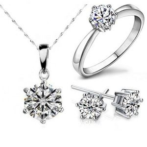 Jewelry - Brand New Ring Necklace and Ring Set